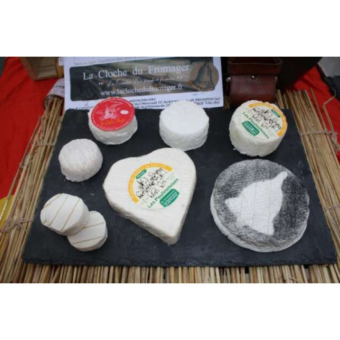 plateau de fromage fermier au lait cru
